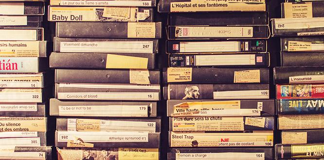Videokassett till DVD